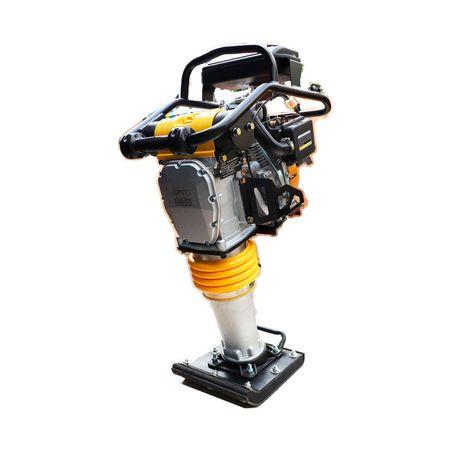 Compactador de Solo a Gasolina 4 HP Canela Fina / Tipo Sapo MR60 LC4.0 CV c/ Horimetro COMPACTADOR MR55LC 3.0CV