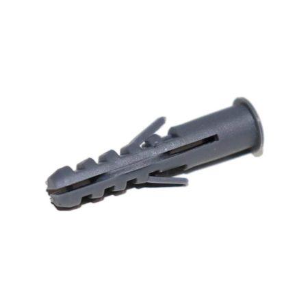 Bucha de Fixação para Parede c/ Flange 8x40 KIT c/ 100 un. Bucha de Fixação para Parede c/ Flange 8x40